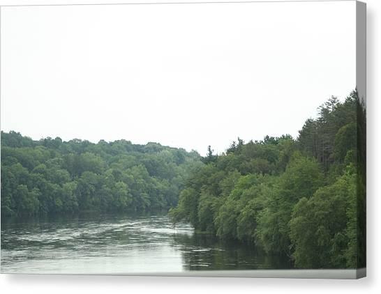 Mighty Merrimack River Canvas Print