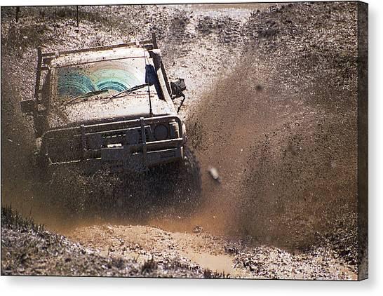 Mud Slinger Canvas Print