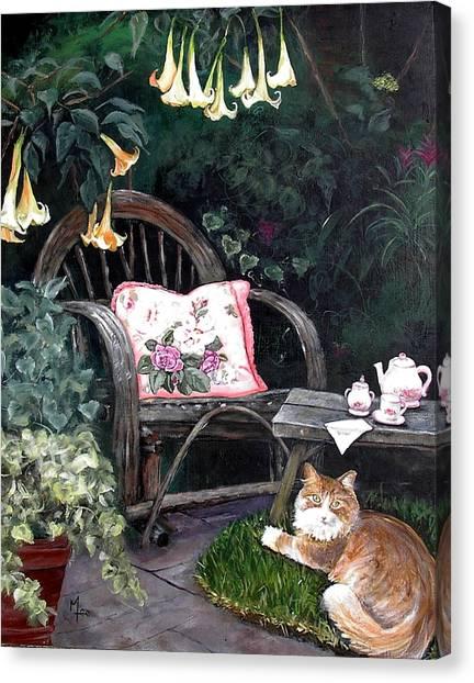 My Secret Garden Canvas Print