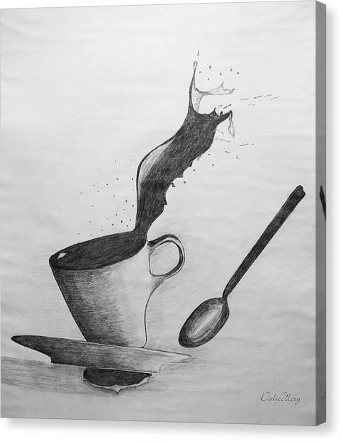 Oops Canvas Print by Dodie Ulery