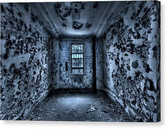 Asylum Canvas Print - Panic Room by Evelina Kremsdorf