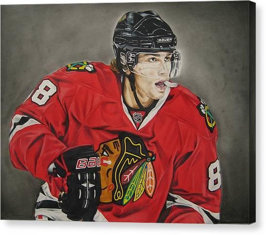 Chin Canvas Print - Patrick Kane by Brian Schuster