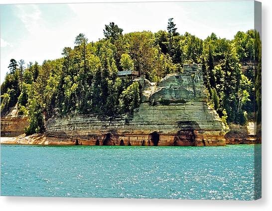 Pictured Rock 6323  Canvas Print