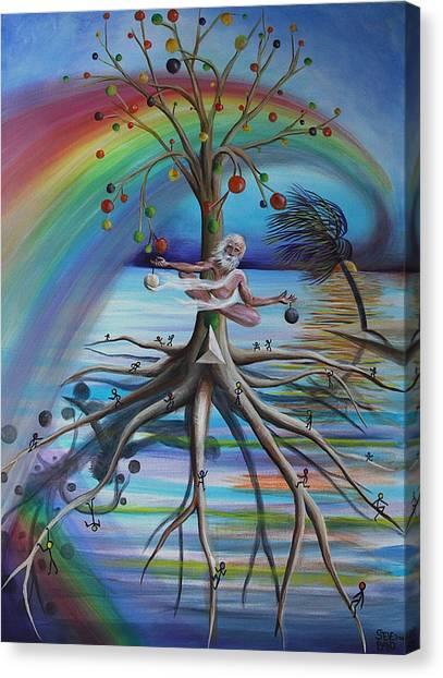 Rising Above Illusion Canvas Print