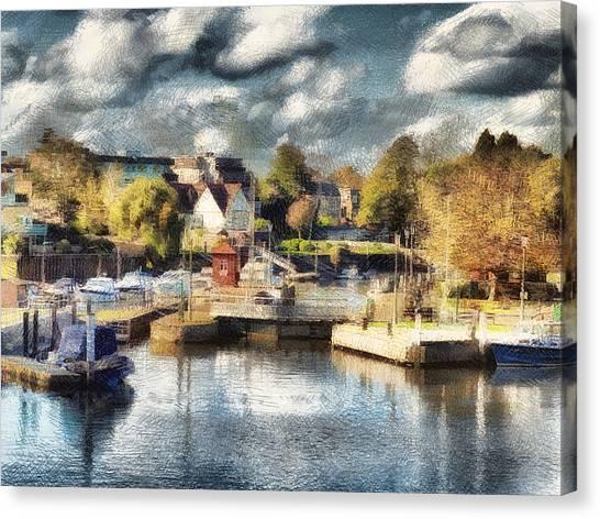 Riverview V Canvas Print
