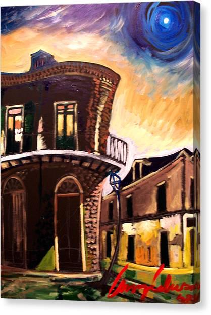 Royal St Sunrise 2 Canvas Print