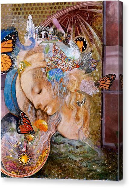 Sanctuary Canvas Print by Diane Woods
