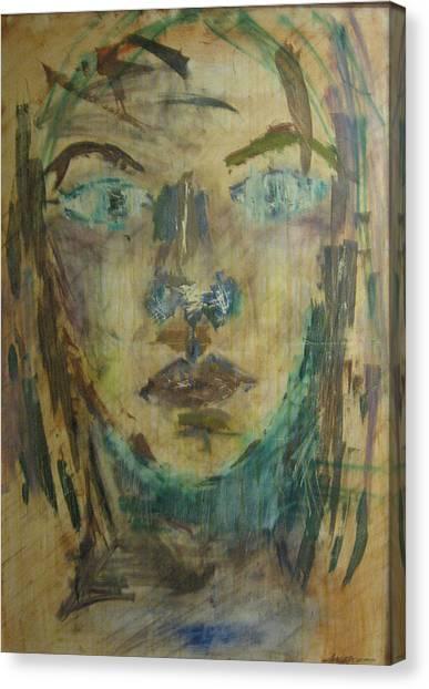 Self Portrait Canvas Print by AmyJo Arndt