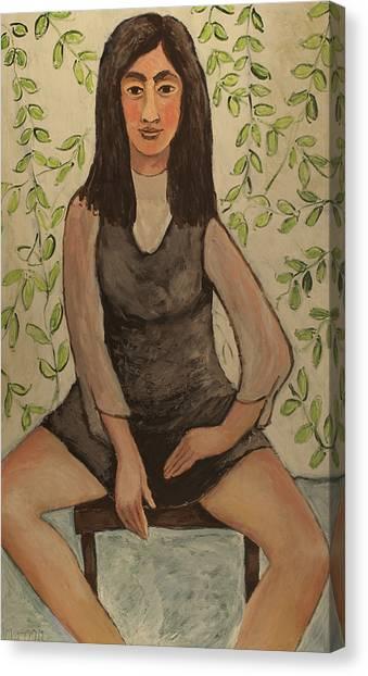 Slyvia Canvas Print