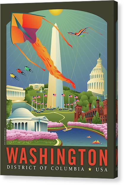Spring In Washington D.c. Canvas Print