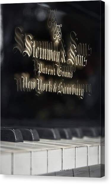Steinway Original Grand Canvas Print