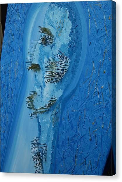 The Indifferent Of Beholder -fragment Canvas Print by Svetlana Vinokurtsev