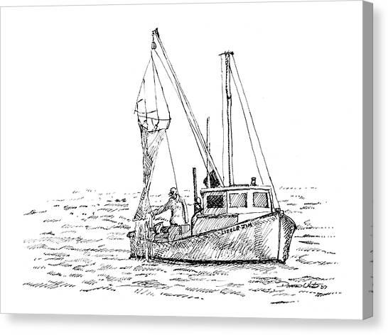 The Vessel Little Jim Canvas Print