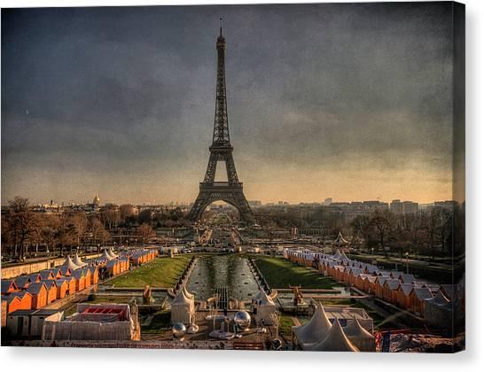 Tour Eiffel Canvas Print by Philippe Saire - Photography