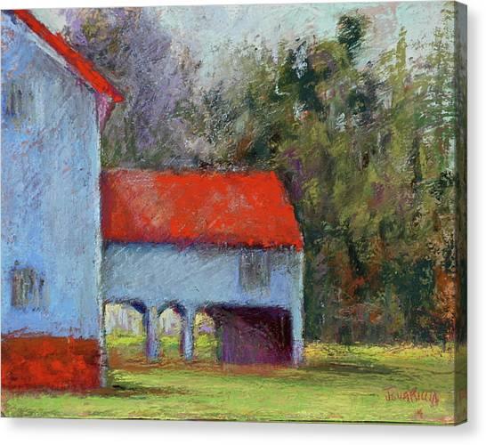 Vanderbilt Park Canvas Print by Joyce A Guariglia
