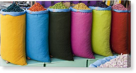 Variety Is The Spice Of Life Canvas Print