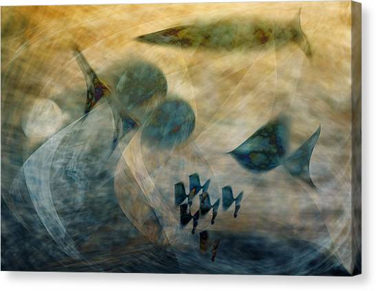 Water World One Canvas Print by Gae Helton