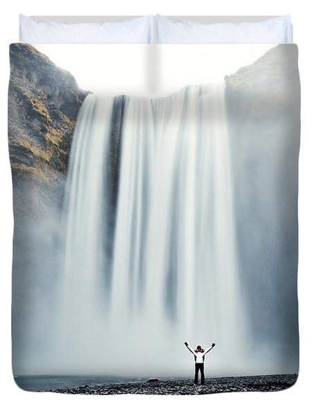 Power Of Elements Duvet Cover by Matteo Colombo