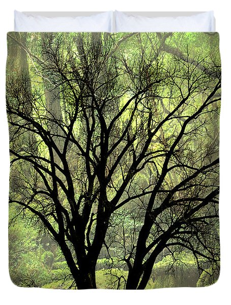 Freaky Tree 2 Duvet Cover by Marty Koch