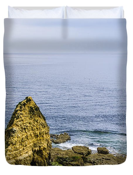 Pointe Du Hoc Duvet Cover