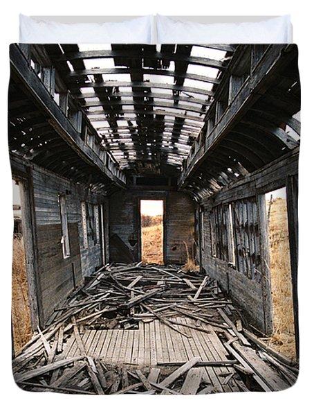 Ghost Train Duvet Cover