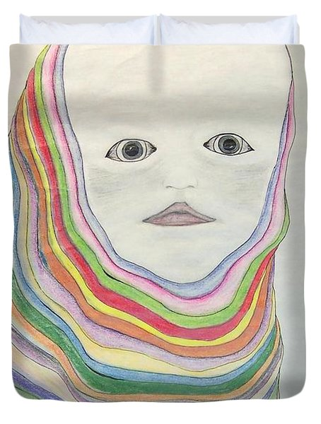 The Masks Duvet Cover