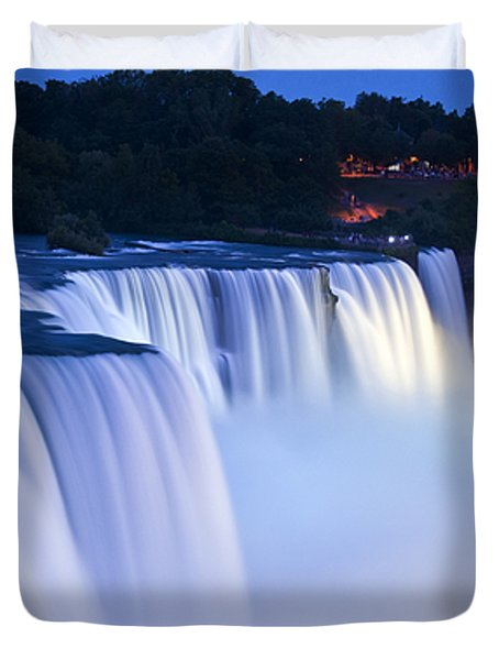 American Falls Niagara Falls Duvet Cover