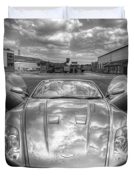 Aston Martin Dbs Duvet Cover