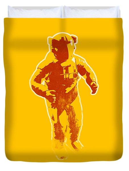 Astronaut Graphic Duvet Cover
