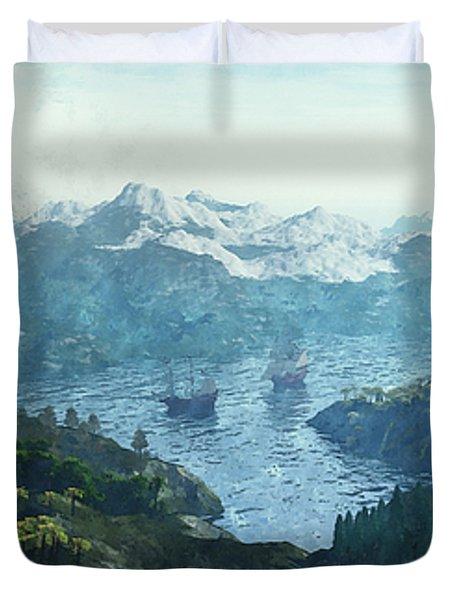 Beautiful Nature Duvet Cover by Jutta Maria Pusl