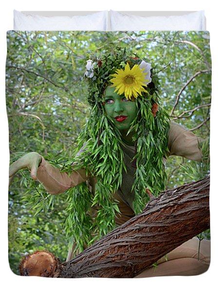 California Girl Duvet Cover by Bob Christopher
