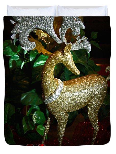 Christmas Card Duvet Cover by Chris Brannen