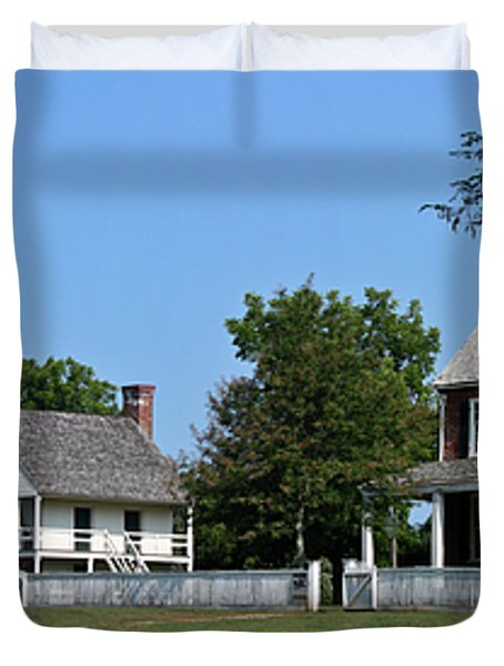 Clover Hill Tavern Appomattox Court House Virginia Duvet Cover by Teresa Mucha
