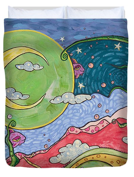 Daydreaming Duvet Cover