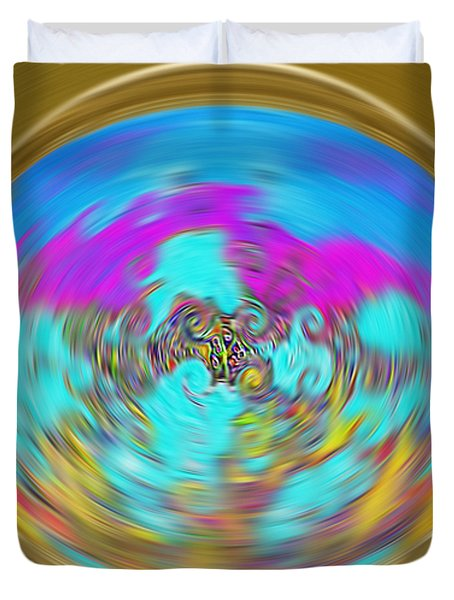 Enchanted View. Unique Art Collection Duvet Cover