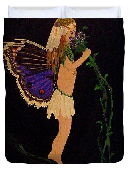 Fairy Girl Duvet Cover