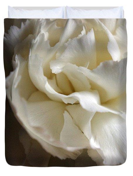 Duvet Cover featuring the photograph Flower Beauty by Deniece Platt