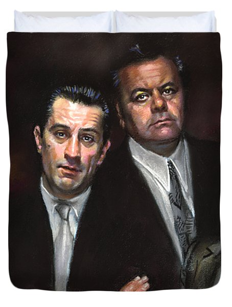 Goodfellas Duvet Cover by Ylli Haruni