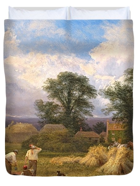 Harvest Time Duvet Cover by GV Cole