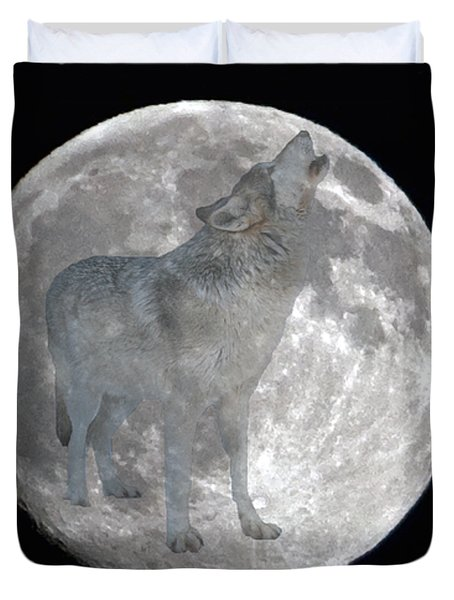 Howl At The Moon Duvet Cover