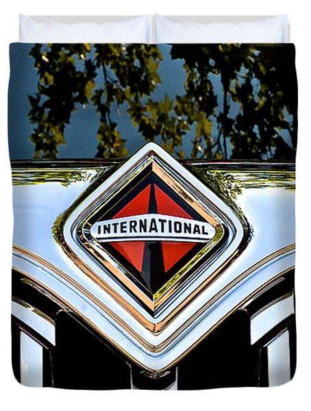 International Truck Duvet Cover
