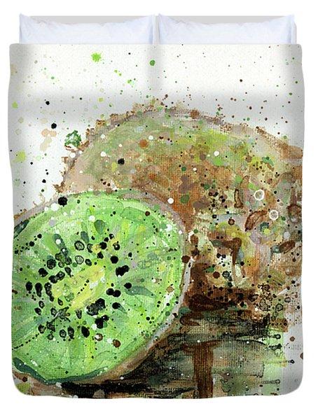 Kiwi 1 Duvet Cover