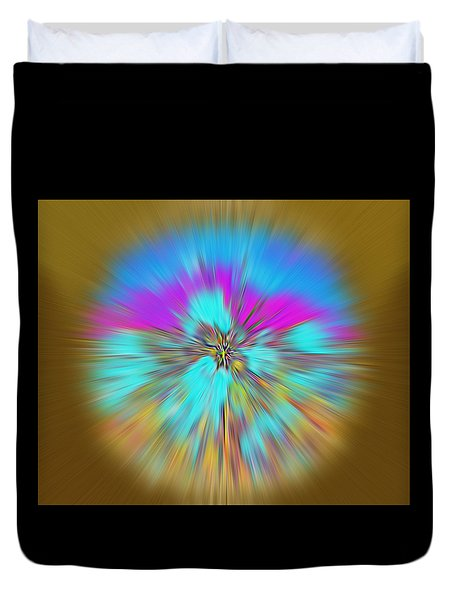 Duvet Cover featuring the digital art Mirage. Unique Art Collection by Oksana Semenchenko