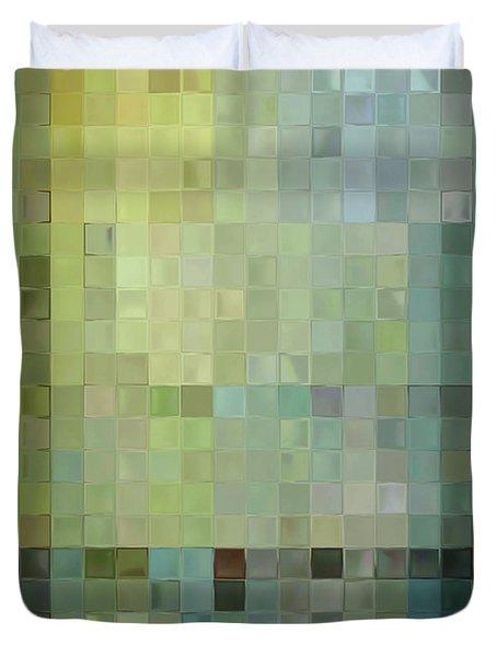 Modern Tile Art One Modern Decor Collection Duvet Cover