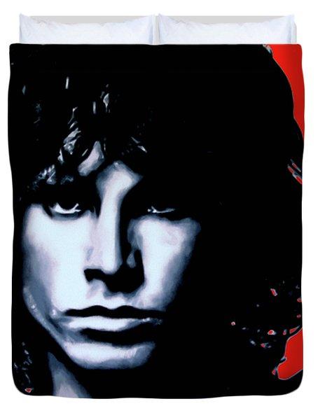 Morrison Duvet Cover by Luis Ludzska