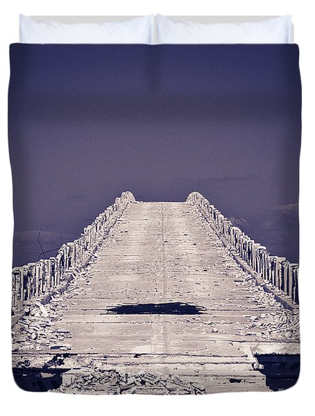 Overseas Railroad II Duvet Cover