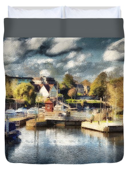 Riverview V Duvet Cover