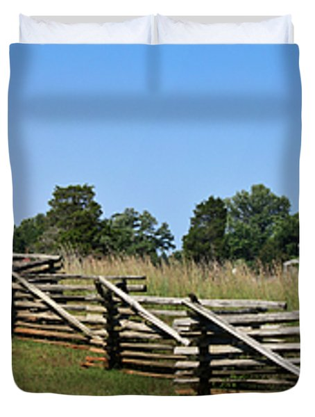 View Of Clover Hill Tavern Appomattox Court House Virginia Duvet Cover by Teresa Mucha