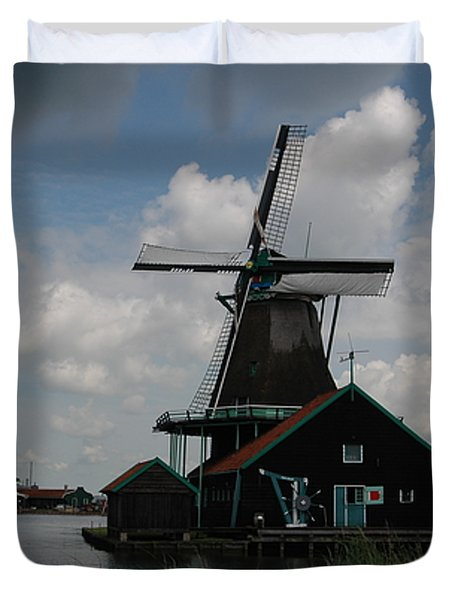Windmill 3 Duvet Cover by Vilas Malankar