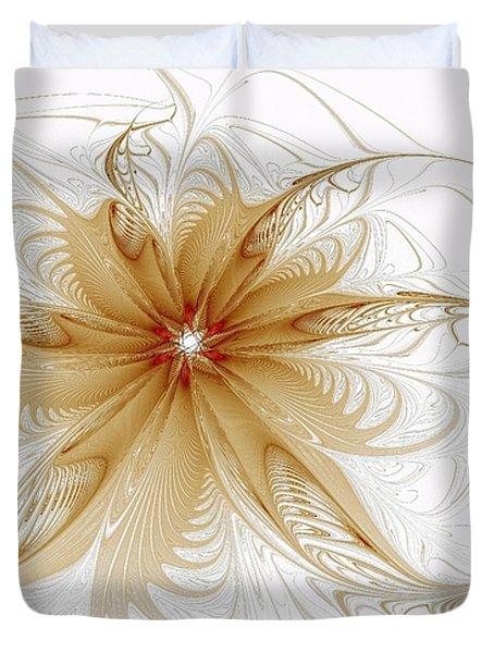 Wispy Duvet Cover by Amanda Moore
